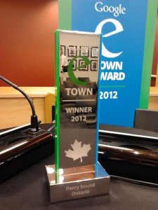 Town of Parry Sound wins Google Award
