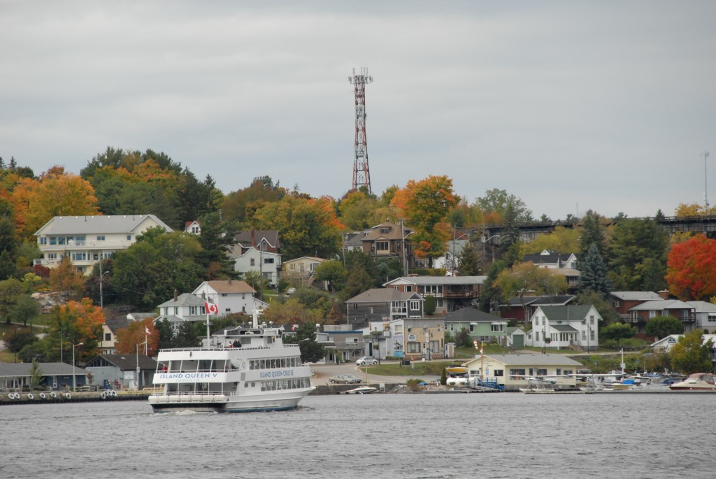 harbour in fall