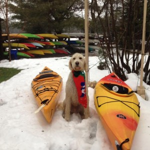 White Squall Charley and kayaks