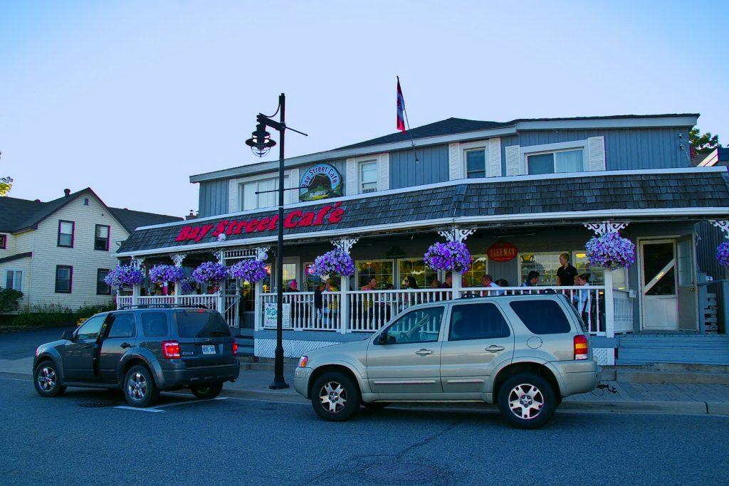 Bay Street Cafe Parry Sound Menu