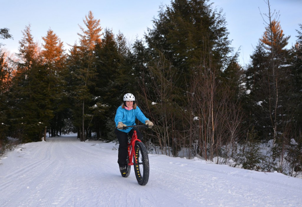 Fat Biking Parry Sound Ontario